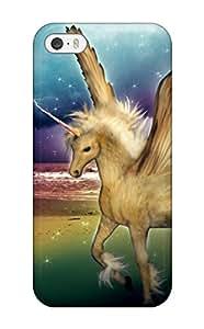 David Dietrich Jordan's Shop unicorn horse magical animaly Anime Pop Culture Hard Plastic iPhone 5/5s cases