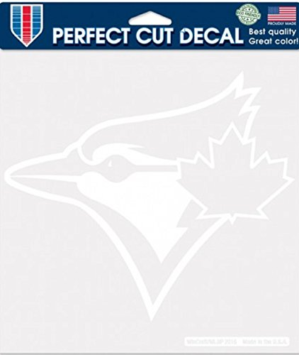 WinCraft MLB Toronto Blue Jays WCR25065012 Perfect Cut Decals, 8