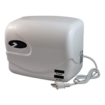 HDLWIS Secadores de Manos, baño de Pared eléctrico automático de inducción secadores de Manos,