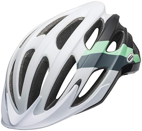 Bell Drifter MIPS Cycling Helmet - Logic Matte/Gloss White/Black/Mint Medium -