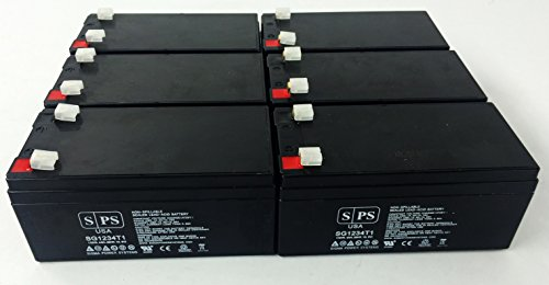 Sps Pump (Replacement Battery for Sonnenchein 3030 INFUSION PUMP - SPS Brand (6 pack))