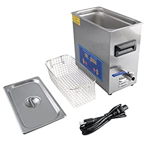 Ultrasonic Cleaner Commercial and Jewelry Ultrasonic Cleaner With Heater And Digital Control (6L)
