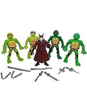 Teenage Mutant Ninja Turtles with Teacher and Weapons Set
