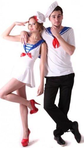 Disfraz de pareja de marineros - M: Amazon.es: Juguetes y juegos