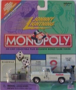 Johnny Lightning 2000 Monopoly Water Works Chevy Cameo Truck by Playing Mantis