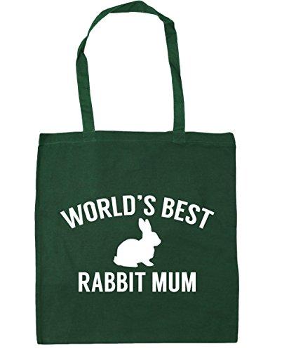 Bag 42cm best Tote Green Gym x38cm Shopping litres rabbit HippoWarehouse World's Bottle Beach 10 mum fW8nzwUA