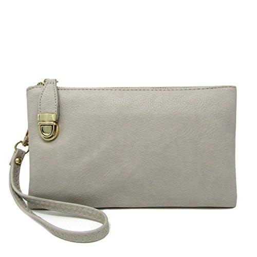 Grey Compartment Solene Crossbody Bag Bag Shoulder Womens Multi Functional qC8AC