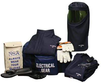 National Safety Apparel(R) HRC4 ArcGuard Compliance 2X Personal Protection Kit - Size 9 Gloves