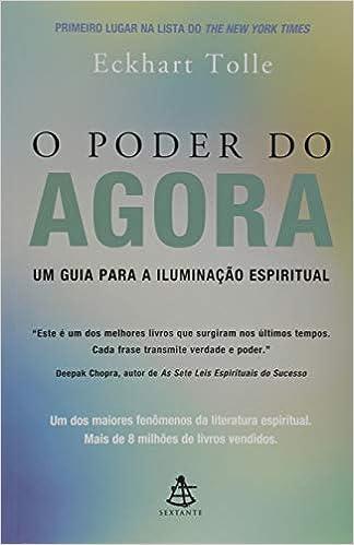 O Poder do Agora   Amazon.com.br
