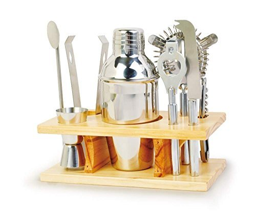Chefs Basics Home Bar Set Cocktail Tool Kit
