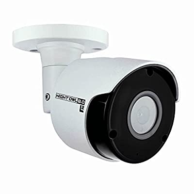 Night Owl Security Add-on Wired Camera with Audio, White by Night Owl Security