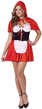 Generique - Disfraz Caperucita roja Sexy Mujer M / L: Amazon.es ...