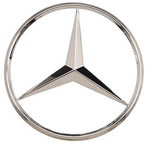Chrome Deck Lid (Euromeister 70231435 Mercedes; OEM Deck Lid Star,Superior Chrome Finish, 107 Chassis,)