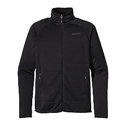 Patagonia Mens R1 Full-Zip Jacket Black SM