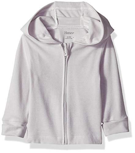 Hanes Girls' Ultimate Baby Zippin Knit Hoodie