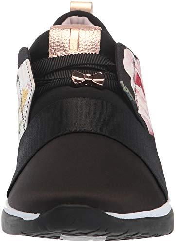 Sneaker Cepap Donna Tessuto Ted Baker Nero Iguazu Grigio Da qEI5A7w5