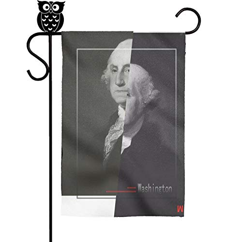 GholoMez 1 Pack Home The Constitution is The Guid Washington 30cm X 45cm Flags Yard Decorative Weather Proof Outdoor Flag