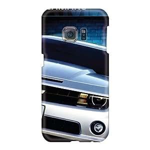 IanJoeyPatricia Samsung Galaxy S6 Protector Hard Phone Case Custom High Resolution Chevrolet Camaro Image [CHG22505hqhH]