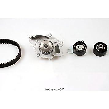 Hepu PK08010 Bomba de agua + kit correa distribución: Amazon.es: Coche y moto
