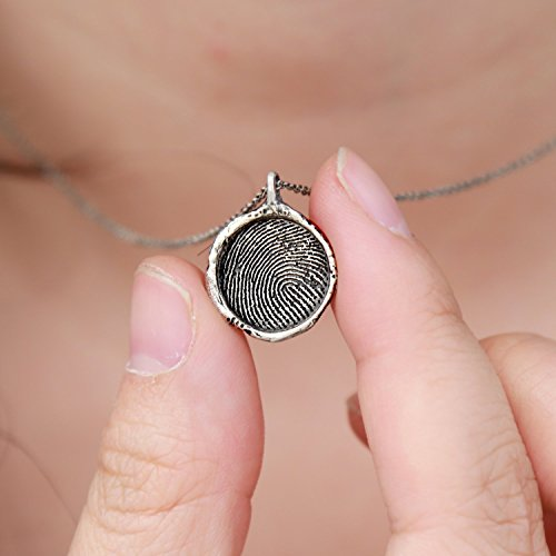 Top 10 recommendation fingerprint jewelry sterling silver