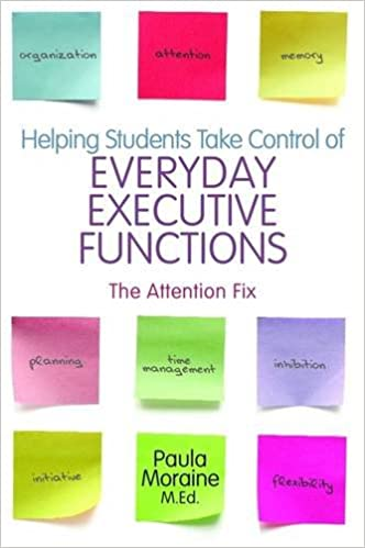 Strengthening Executive Function >> Amazon Com Helping Students Take Control Of Everyday Executive