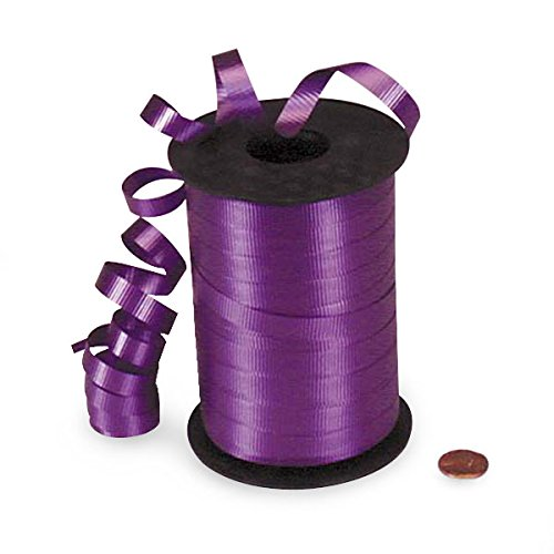 (Purple Crimped Curling Ribbon 3/8
