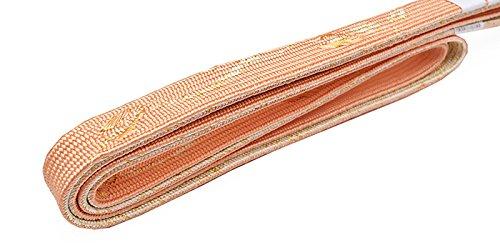 和ごころきもの屋 絹100%【礼装用】【LL】【長尺 帯締め 手組 帯〆】 ゆとりサイズ 【リバーシブル】  LL 絹 ozll694