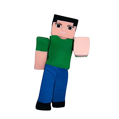 (STEVE MINECRAFT VIDEO GAME MASCOT COSTUME ADULT QUALITY PARTY HALLOWEEN)