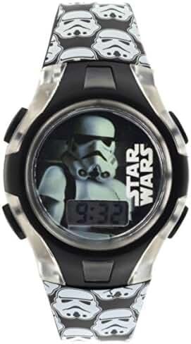 Star Wars Star Wars Classics Storm Trooper Flashing Lights LCD Watch