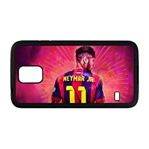 Generic hard plastic Neymar JR Cell Phone Case for Samsung Galaxy S5 Black ABC8352713