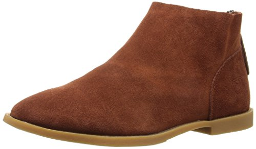 Dirty Laundry by Chinese Laundry Women's Karate Chop Bootie, Rust Suede,  9 M US