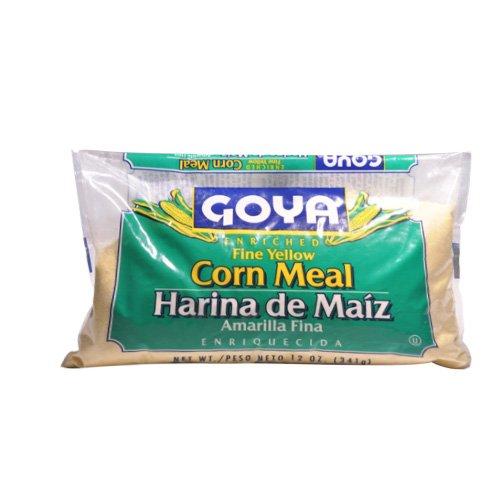 Goya Fine Yellow Corn Meal -- 12 oz
