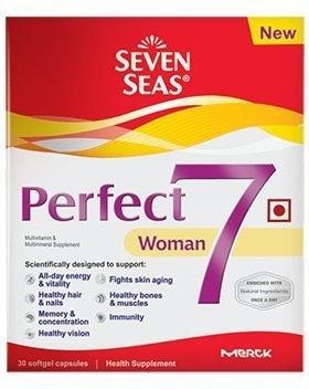 Seven Seas Perfect 7 Woman 30 Softgel Capsules for Women