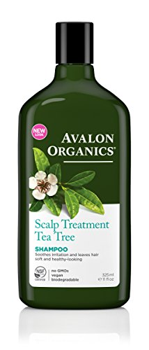 Avalon Organics Shampoo, Scalp Treatment Tea Tree, 11 Fluid Ounce (Pack of - Shipping Australia Within Free