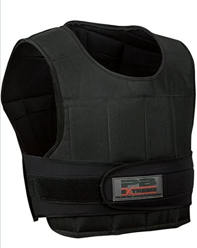 Perform Better Extreme Fitness Adjustable Weighted Weight Vest