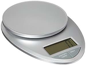 EatSmart Precision Pro Digital Kitchen Scale, Silver