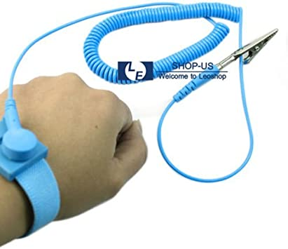 New Anti-static ESD Adjustable Strap Antistatic Grounding Bracelet Wrist Band !