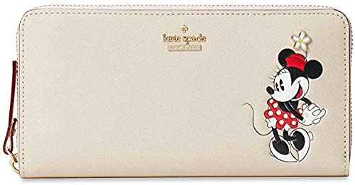 Kate-Spade-x-Minnie-Mouse-Lacey-Leather-Wallet-Clutch
