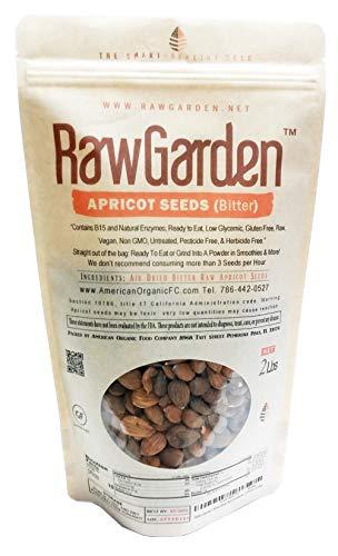 Raw Garden Bitter Raw Apricot Seed California Grown (2 lbs)