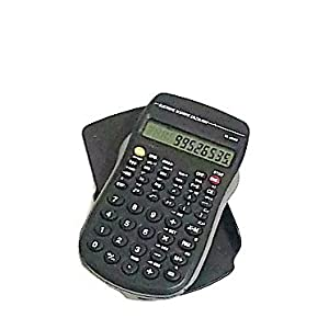Scientific Calculator Battery Operated 10 Digit Display with Memory and Statistical Calculation - 56 Functions