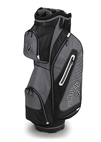 - Callaway Golf 2017 Capital Cart Bag, Black/White