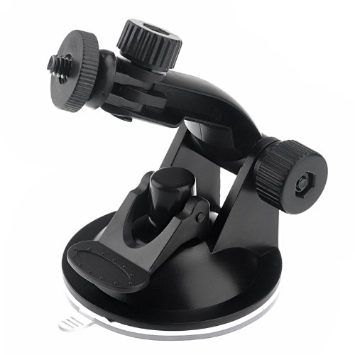 Gopromate(TM) Suction Cup Mount and Tripod Adapter For GoPro HD Hero, Hero2, Hero3