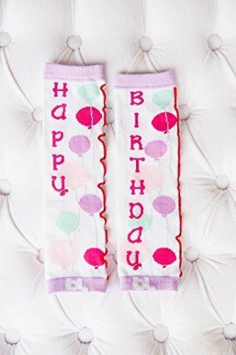 Baby Leggings Leg Warmers (Birthday Girl) by Baby Leggings [並行輸入品]   B015RXXOCA