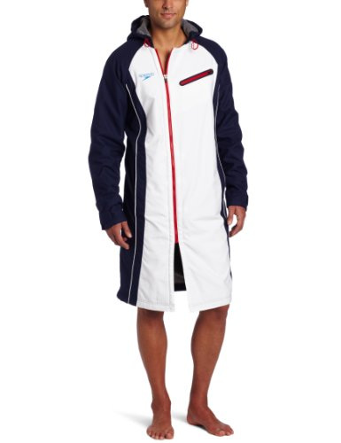 Amazon.com: Speedo Men's Team Collection Unisex USA Swim Parka, US ...