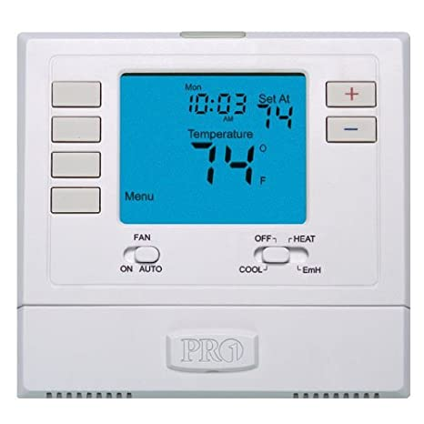 PRO1 IAQ Pro1 T721 Non-Programmable 2H/1C Heat Pump Thermostat