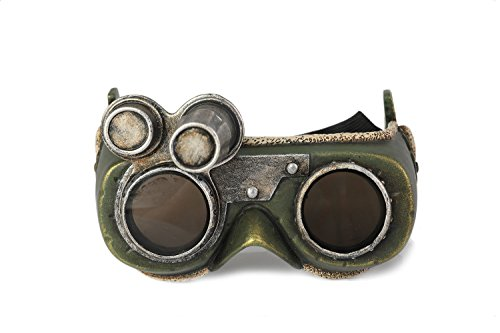 Xcoser Monster Cosplay Hunter The Handler Goggles Glasses & Eyewear Props - Props Hunter Monster