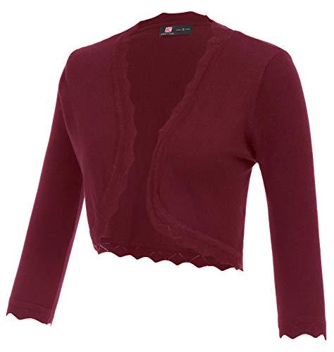 Womens Dressy Blazers Party Dress Coats(XXXL,Wine Red)