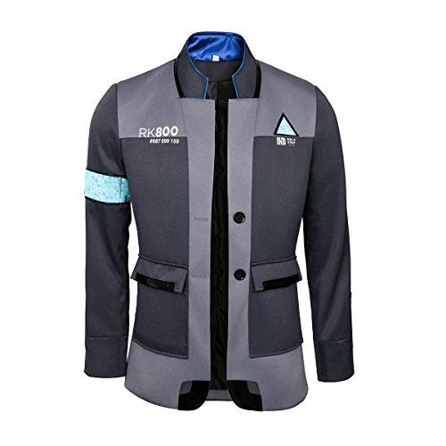 Become Human Cosplay Jacket Kara Connor Marcus Android Uniform Coat Halloween Costume (XX-Large) -