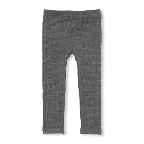 The Children's Place Baby Girls Cable Knit Leggings, Heather/T Hound 3T
