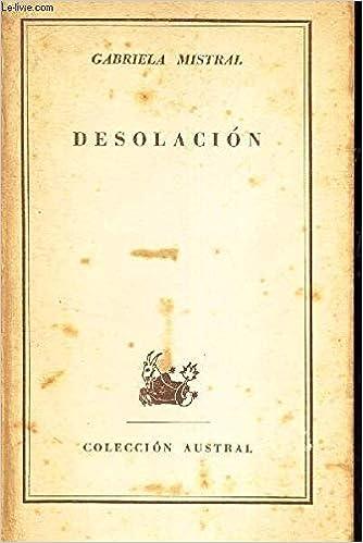 Gabriela Mistral Desolacion Download